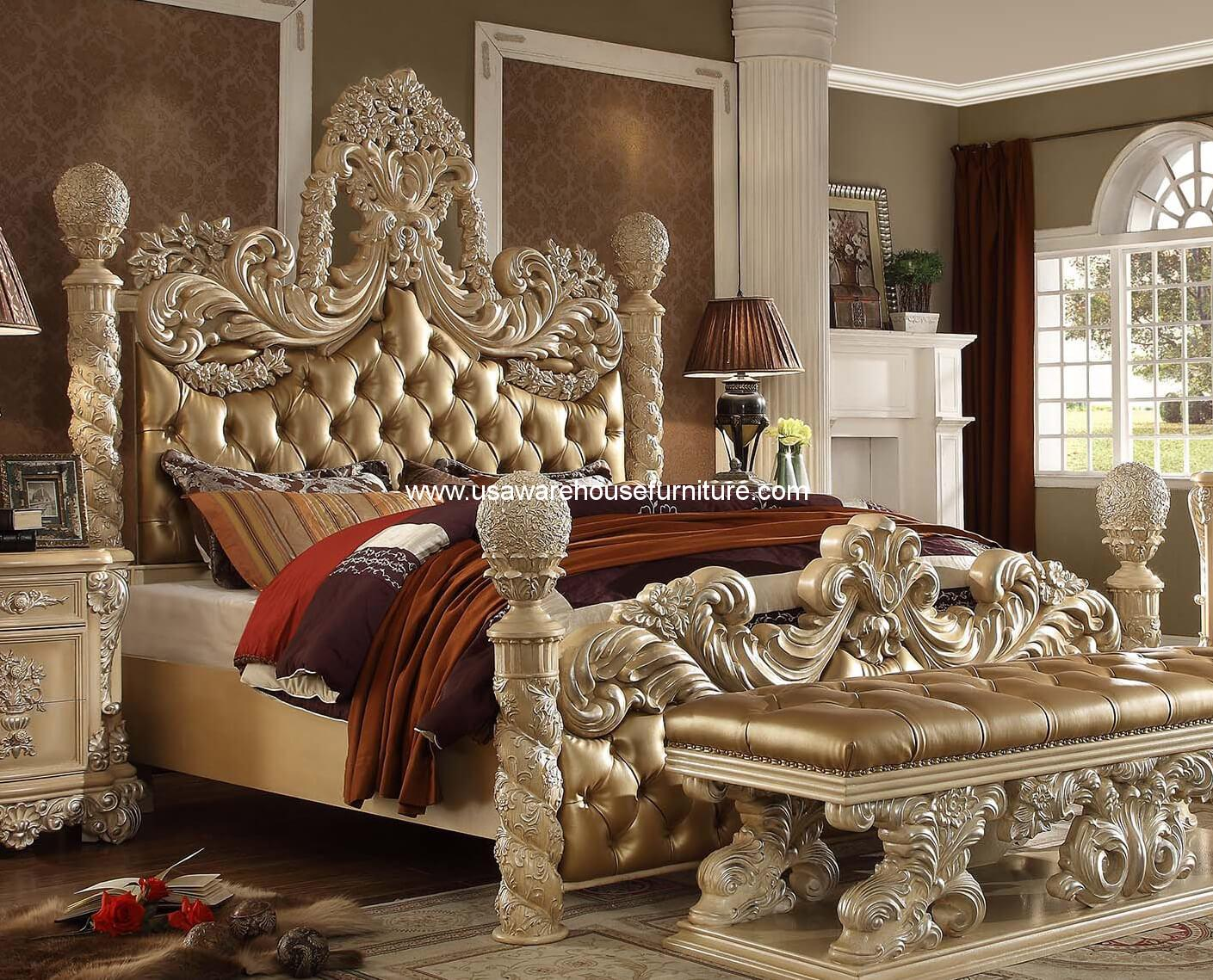 Victorian Palace Hd 7266 Bed Usa Warehouse Furniture