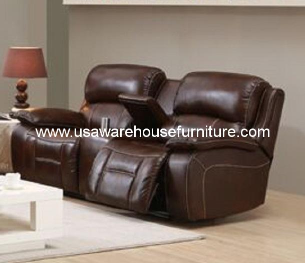 Full Grain Leather Sofas: Westminster Full Top Grain Leather Reclining Loveseat