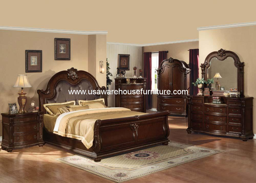 Acme furniture anondale bedroom set usa warehouse furniture for L furniture warehouse