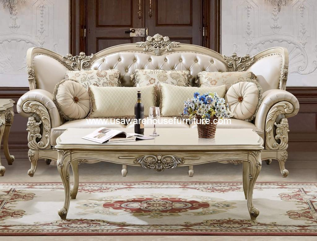 Hd 32 homey design luxury loveseat collection usa for Design sofa outlet