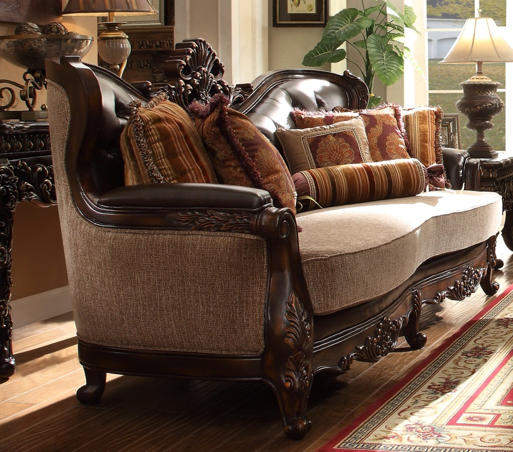 Hd Designs Furniture: Homey Design HD-369 Royal Sofa