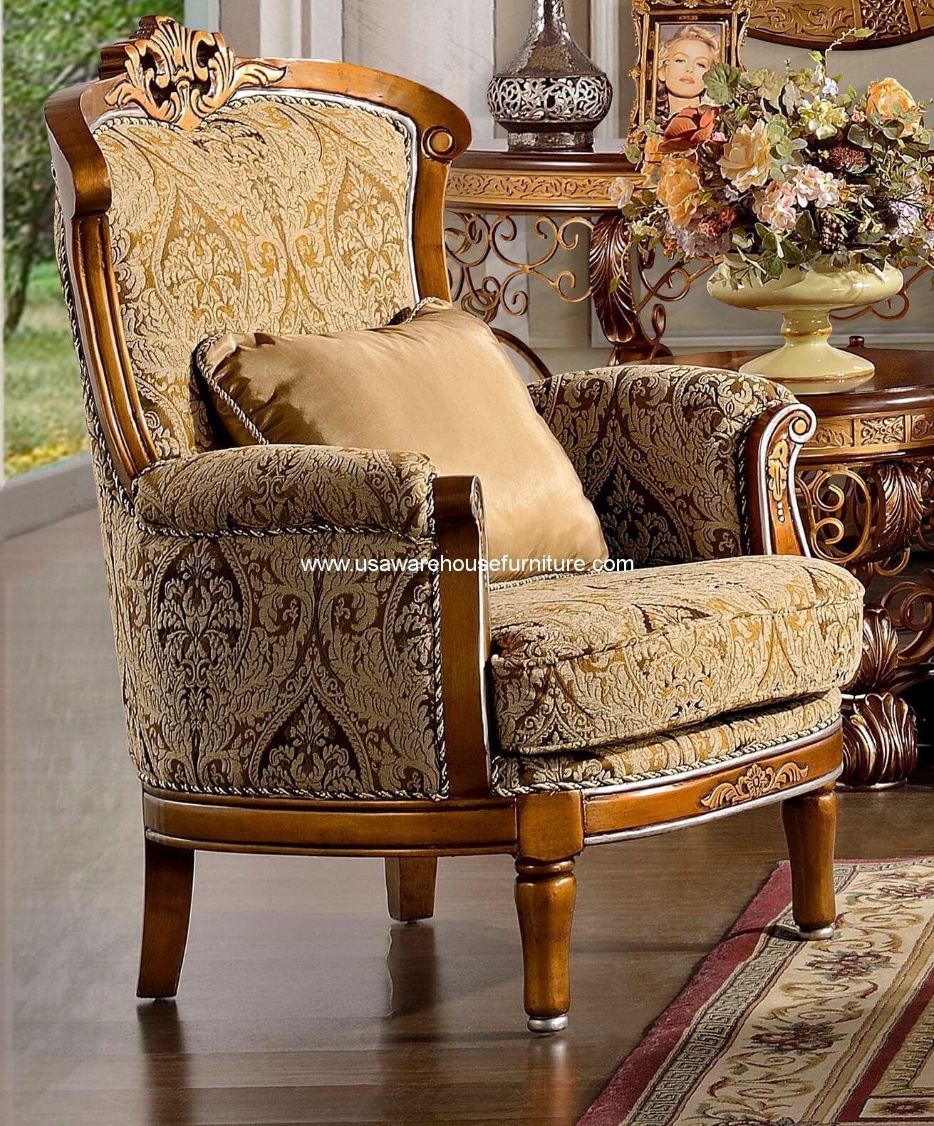Homey Design Hd 369 Royal Chair Usa Warehouse Furniture