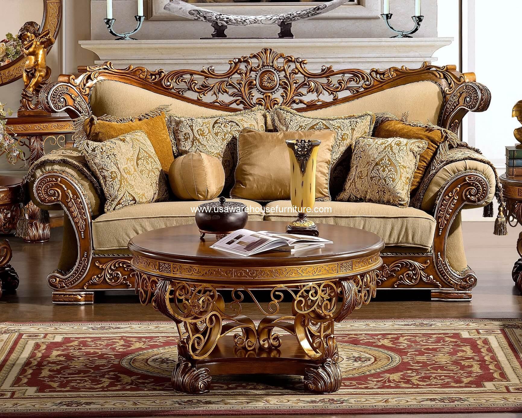 Homey Design Hd 369 Royal Sofa Usa Warehouse Furniture