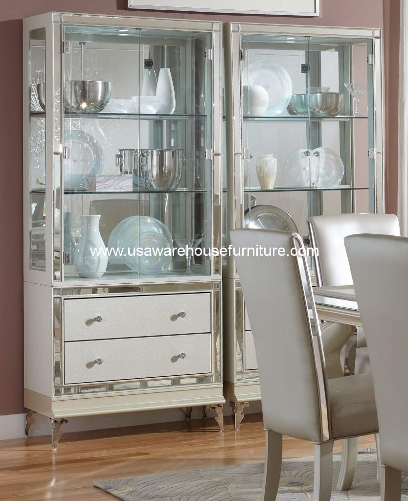 Michael Amini Hollywood Loft Pearl Curio
