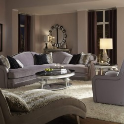 Michael Amini Hollywood Swank 2 Pc Sectional Set