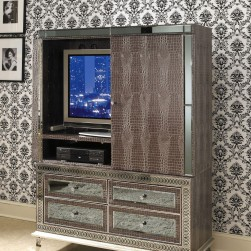 Hollywood Swank Amazing Gator Media Cabinet