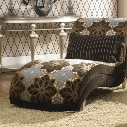 Michael Amini Hollywood Swank Armless Chaise