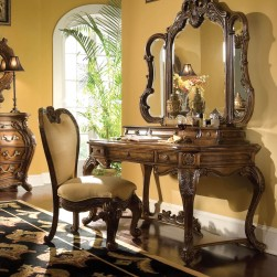 Michael Amini Palais Royale 4-Pc Vanity Writing Desk Set