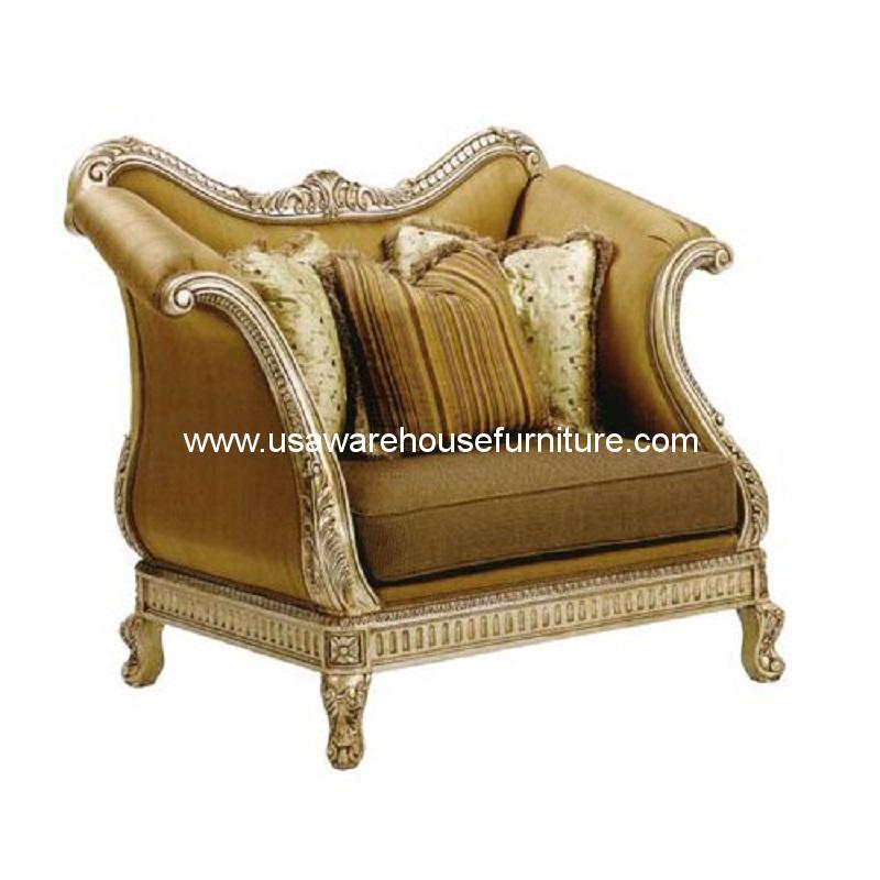 Ordinaire Benettiu0027s Italia Riminni Wood Trim Chair And A Half