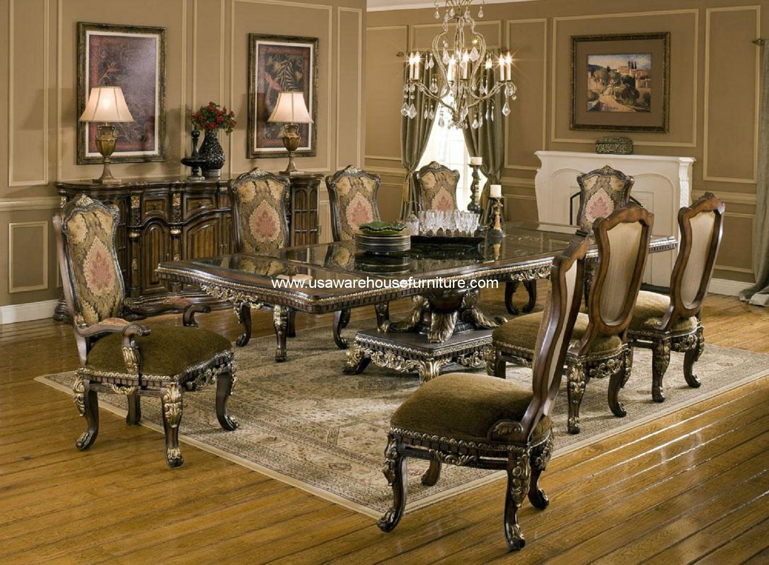 Benetti S Italia Sicily 11 Piece Formal Dining Set Usa