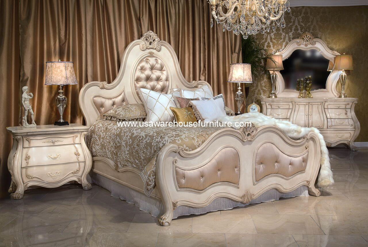 Michael Amini/Aico Chateau De Lago Bed 9052014-04 • USA Warehouse ...