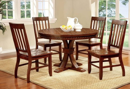 Foster I Round Dining Set CM3437RT