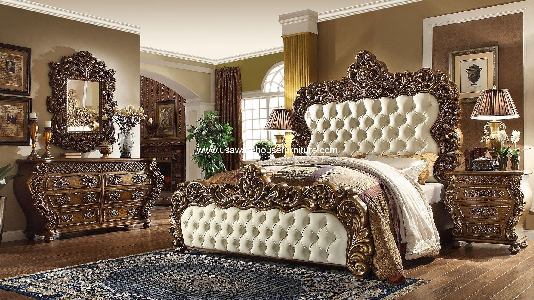 5 Piece Vienna European Bedroom Set HD 8011