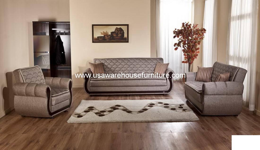 Demka Argos Sofa Bed Sleeper In Brown
