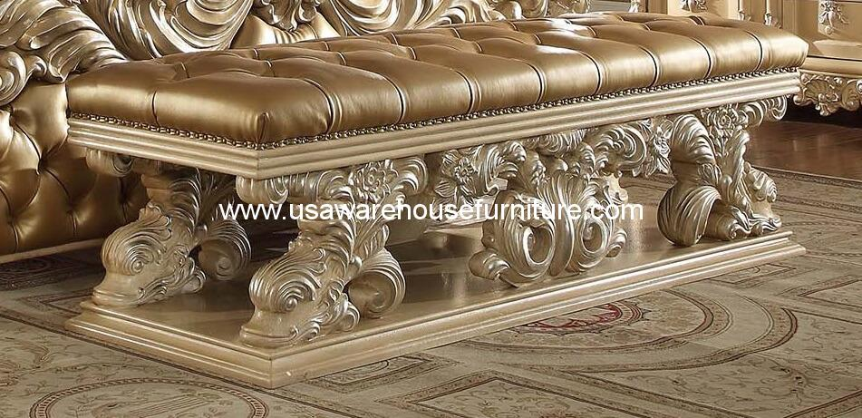 Victorian Palace Hd 7266 Bed Bench Usa Warehouse Furniture