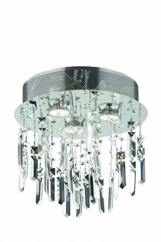 """3 Lights Flush Mount 13"""" 2006 Galaxy Collection"""