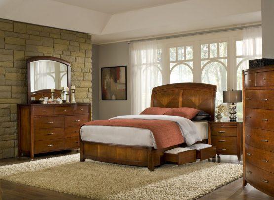 Brighton Panel Storage Bedroom Set
