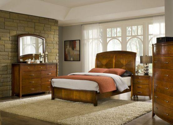 Brighton Low Profile Bedroom Set