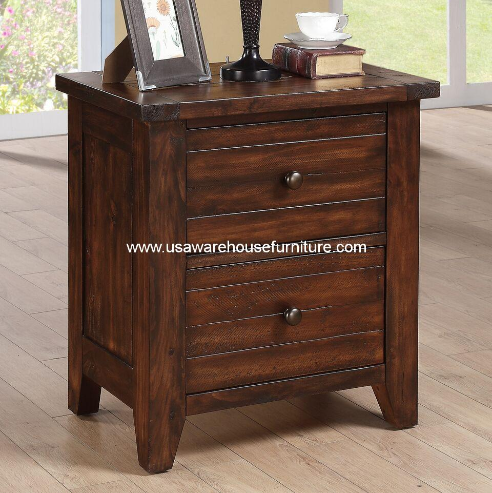 4 Piece Modus Kentfield Solid Wood Bedroom Set: Cally Solid Wood Six Drawer Chest