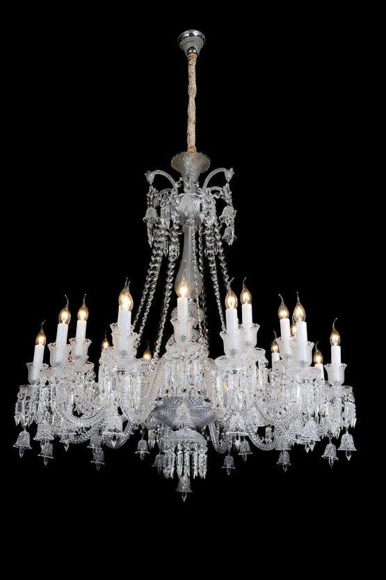 Michael Amini 24 Light Treviso Chandelier Clear Glass