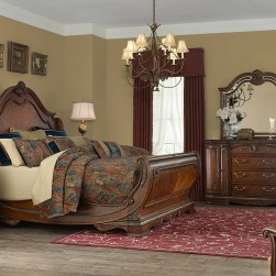 4 Piece Bella Veneto SLeigh Bedroom Set