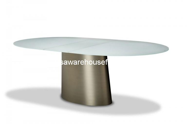 Trance Halsted Oval Extendable Dining Table