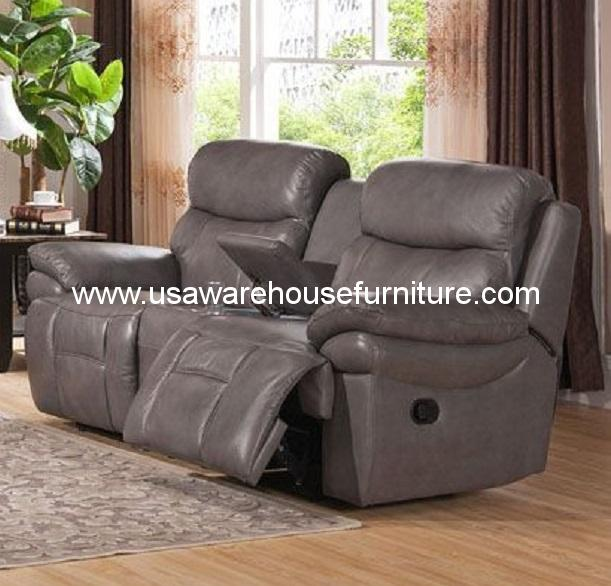Wustrow Umber Italian Leather Power Reclining Sofa: Summerlands Burnt Umber Top Grain Leather Power Recliner