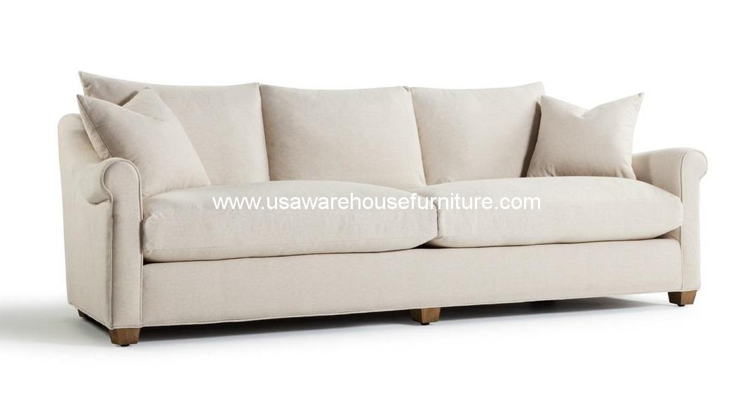 Celeste Upholstered 104 Sofa USA Warehouse Furniture