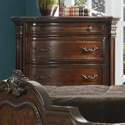 Antoinetta Five Drawer Chest Cherry Finish