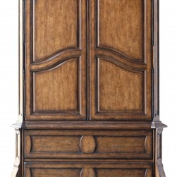 Continental Armoire Weathered Nutmeg Finish