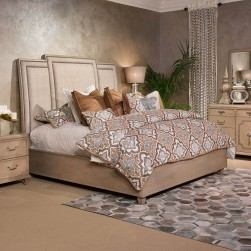 4 Piece Tangier Coast Panel Bedroom Set