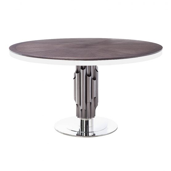 Aria Dining Table Grey Oak