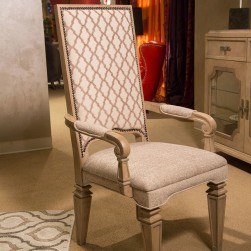 Michael Amini Tangier Coast Dining Arm Chair