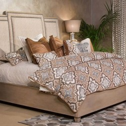 Michael Amini Tangier Coast Panel Bed