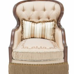 Villa di Como Accent Chair Portobello Finish