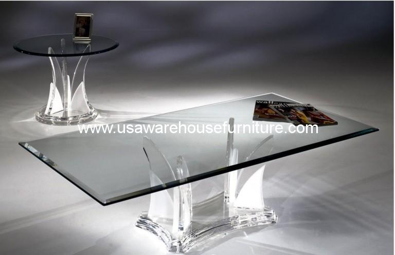 Acrylic Legend Swan Rectangular Dining Table Ls 900 Usa