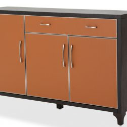 21 Cosmopolitan Orange Sideboard
