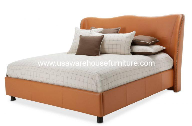 21 Cosmopolitan Orange Wing Bed