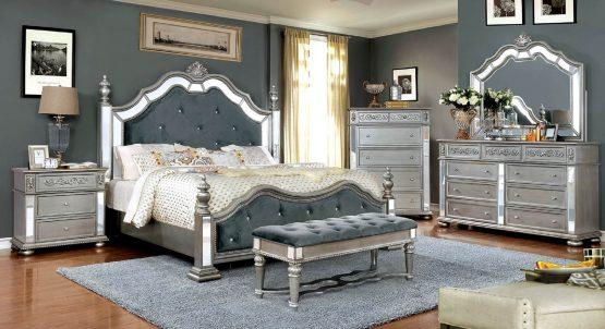4 Piece Azha Traditional Bedroom Set