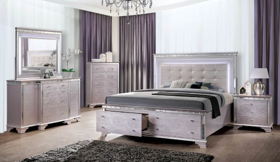 Claudette Contemporary Bedroom Set