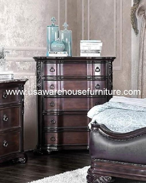 Arcturus Five Drawer Chest