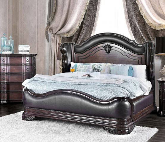 Arcturus Traditional Bed