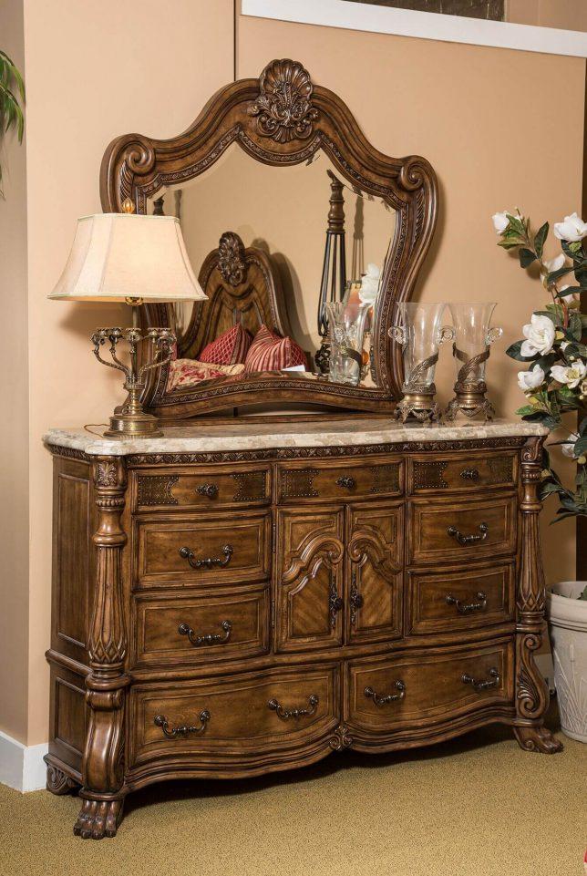 Eden's Paradise Dresser Marble Top