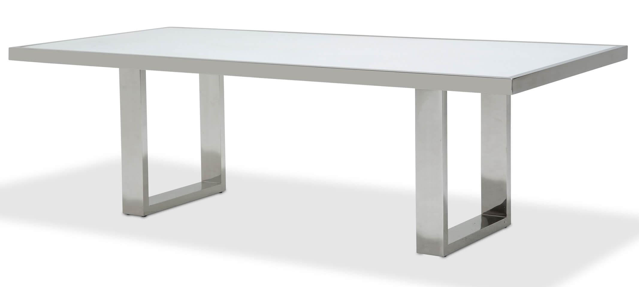 Michael Amini State St Rectangular Dining Table Usa Warehouse Furniture
