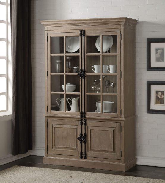 Eleonore Trestle Curio Cabinet