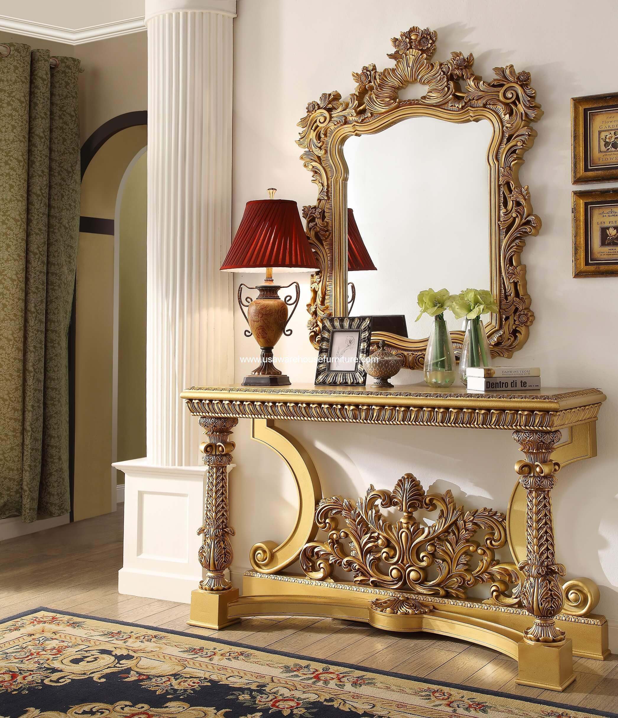 Hd Designs Furniture: Hillsborough Console Table Homey Design HD-8016