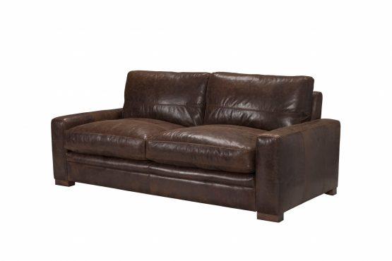 Modena Italian Leather Sofa