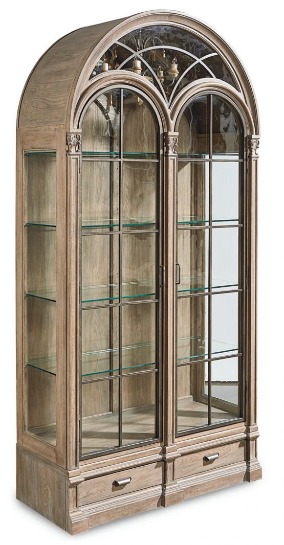 Arch Salvage Curio Cabinet