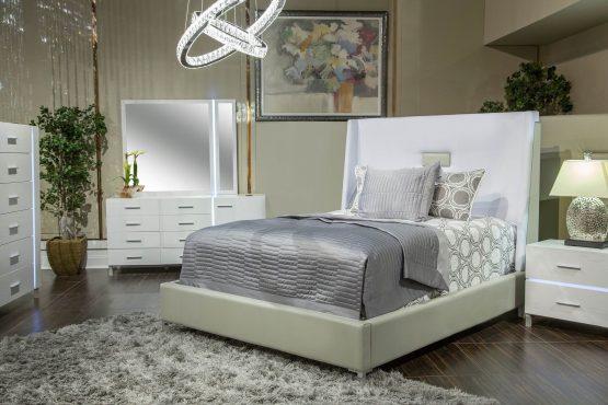 4 Piece Lumiere Bedroom Set